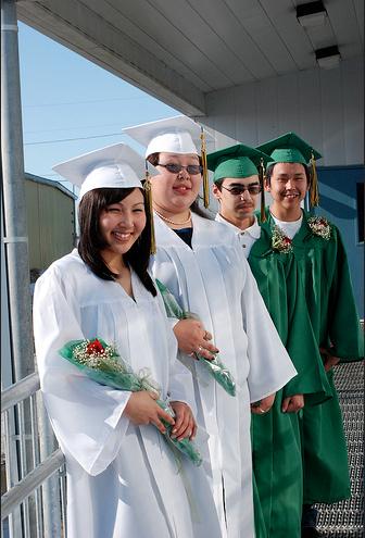 Graduation Shishmaref Style
