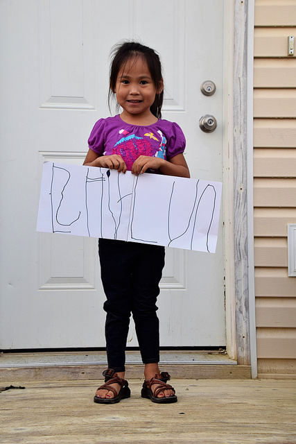 First Day of Kindergarten in Brevig Mission, Alaska