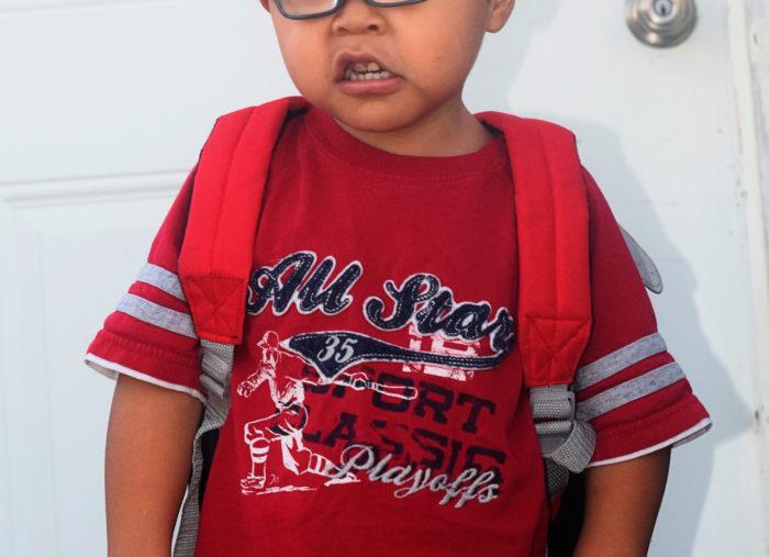 First Day of Preschool!!!