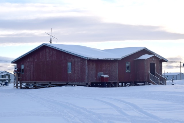 Bingo Hall in Brevig Mission, Alaska