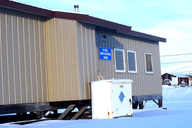 Army National Guard Building in Brevig Mission, Alaska