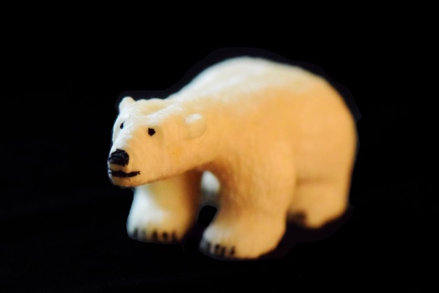 Ivory Carvings- Polar Bear