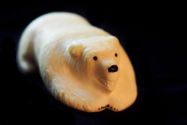Ivory Carvings- Polar Bear by DJ