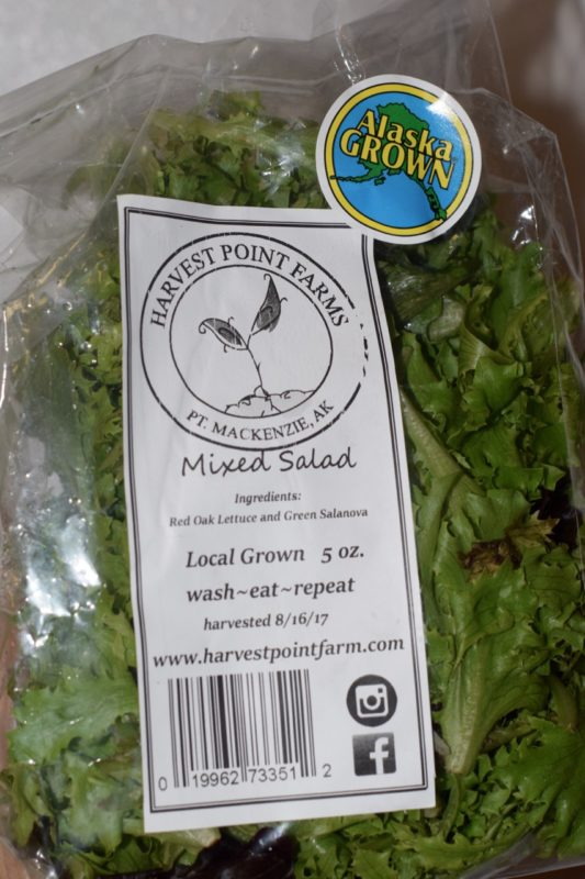 Alaska Food Network Salad Mix