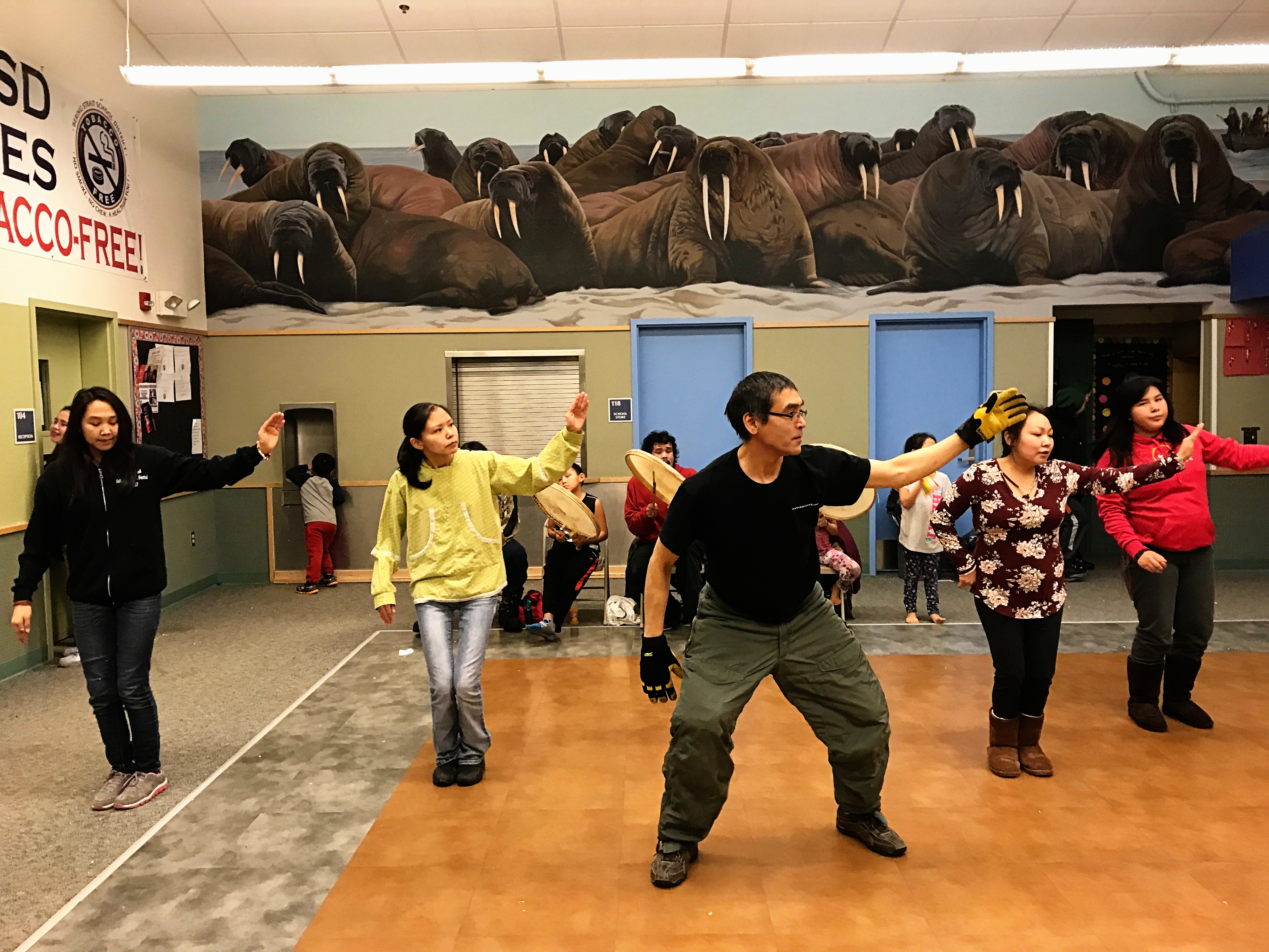 Christmas in Brevig Mission Inupiaq Dancing NYE