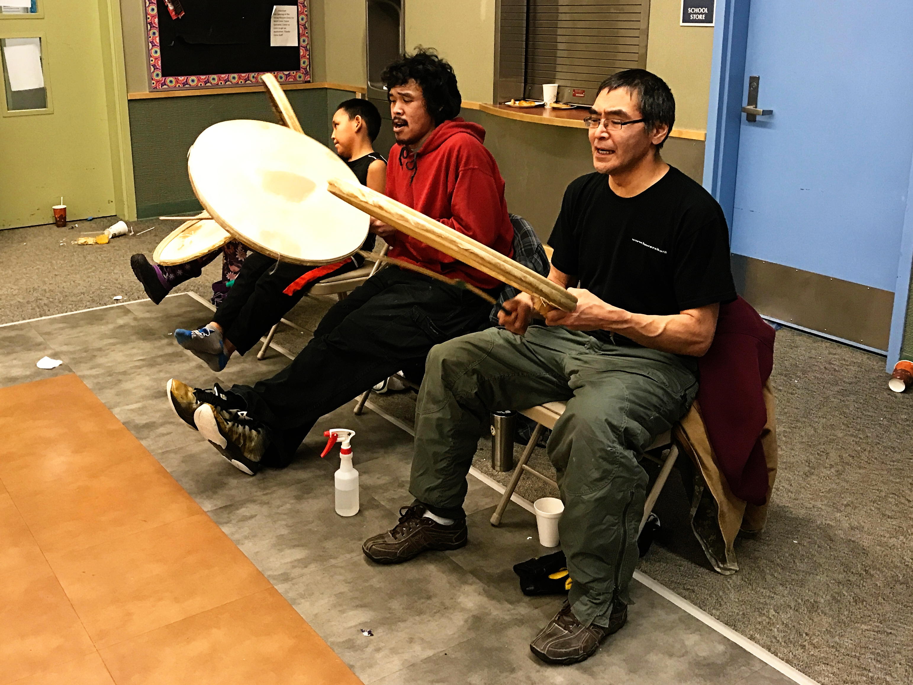 Christmas in Brevig Mission Inupiaq Drummers NYE