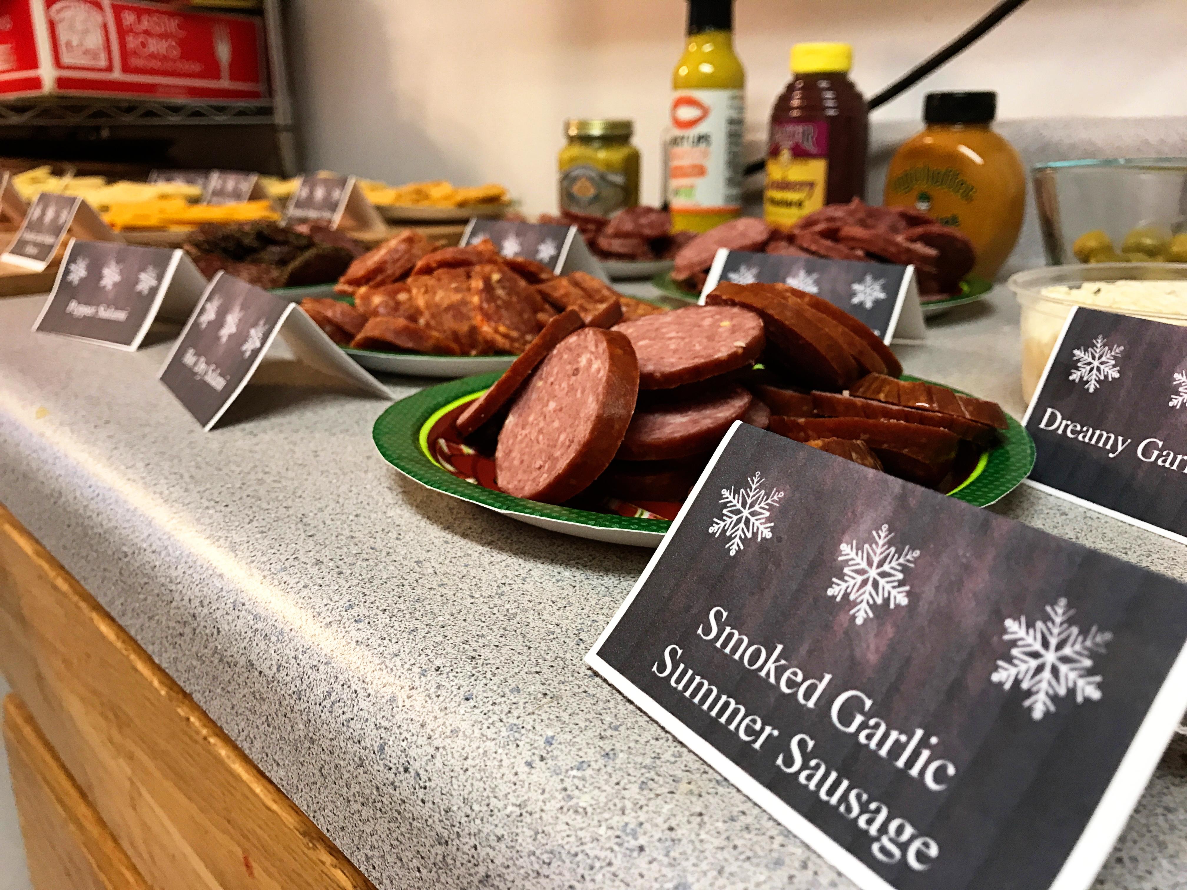 Christmas in Brevig Mission Artistic Food Shot