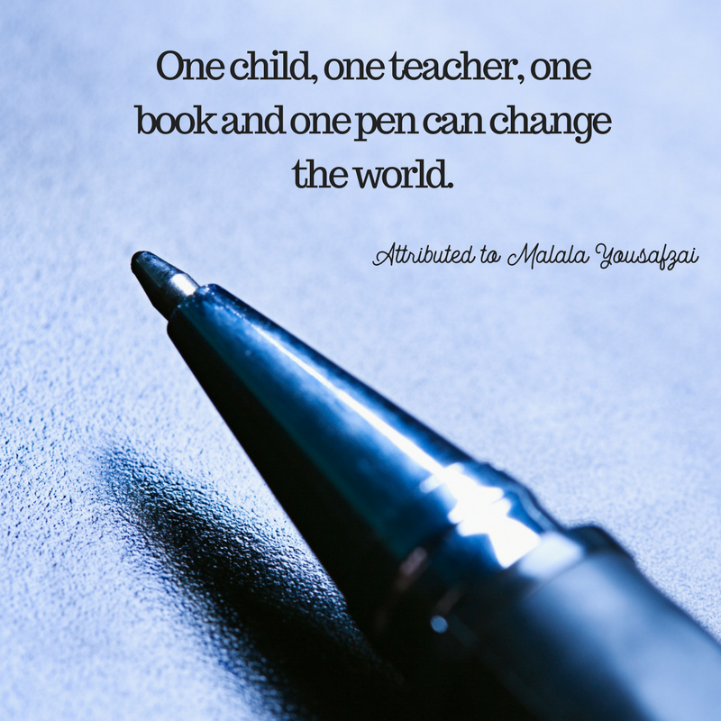 Quotes about Teaching Malala