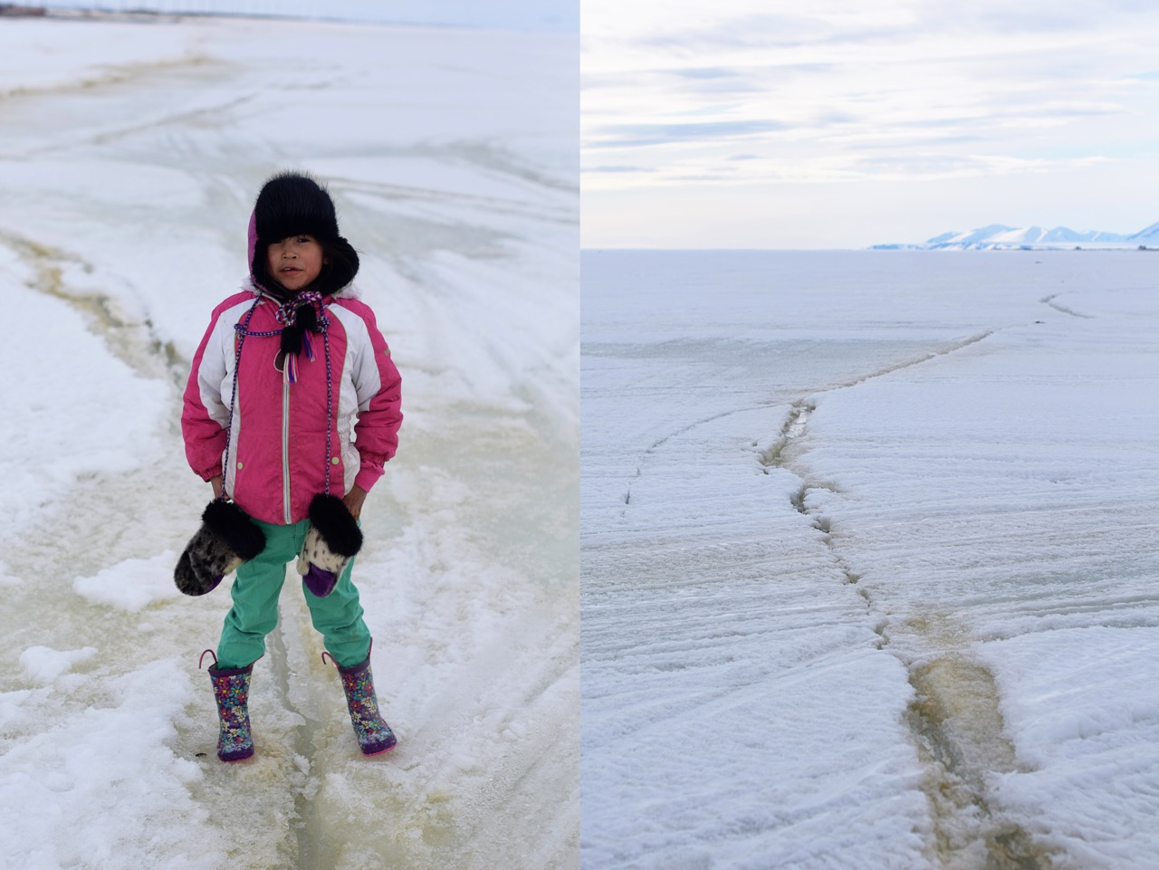 Spring in Brevig Mission: Kaitlyn and the Ice Crack