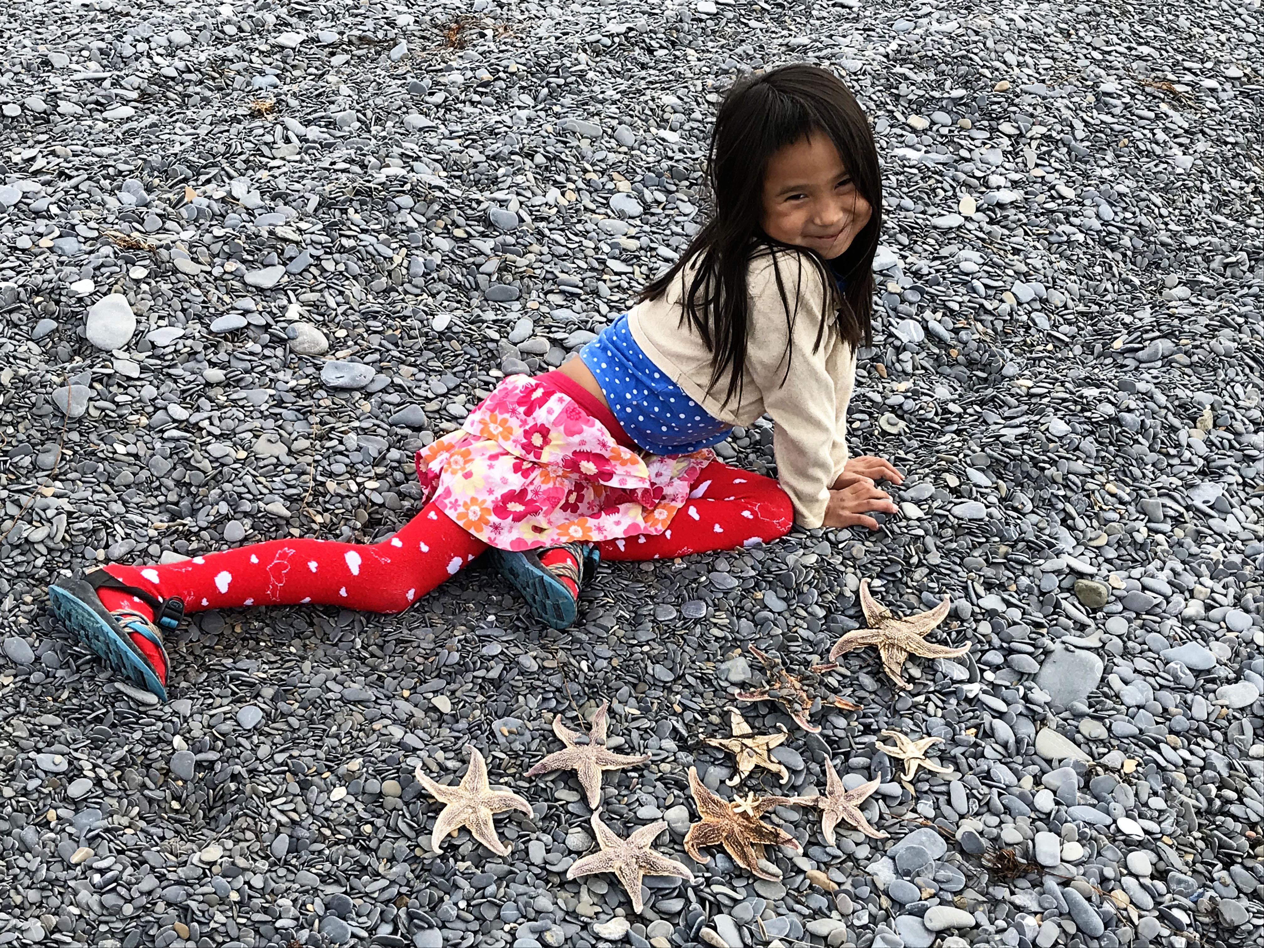 Back in the Alaska Bush Starfish Family